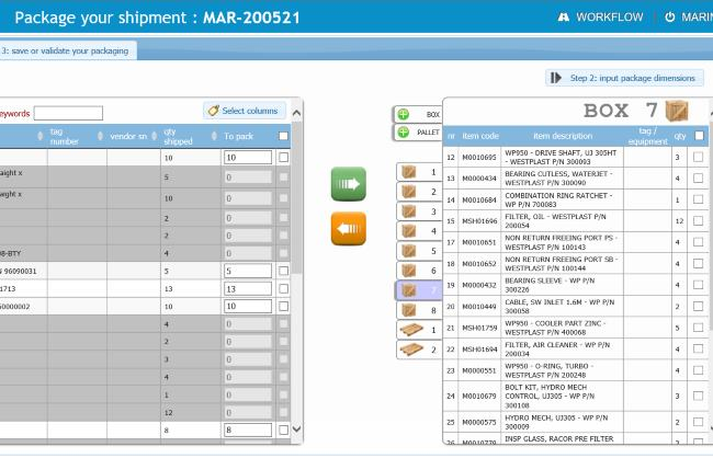 intranet entreprise gestion expeditions et tracking colis